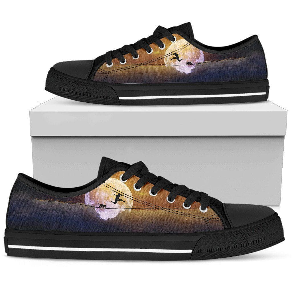 Me And My Best Friend Cat Women Canvas Shoes DHL Express Shipping