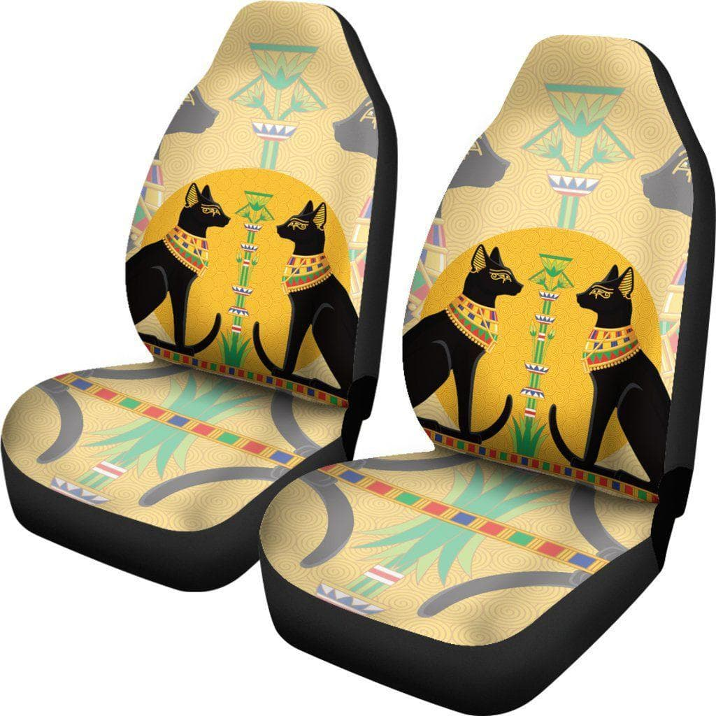 Ancient Egyptian Cats Car Seat Covers DHL Express Shipping