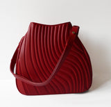 Curve Red Wine - Maria Cardelli Fashion Accessories