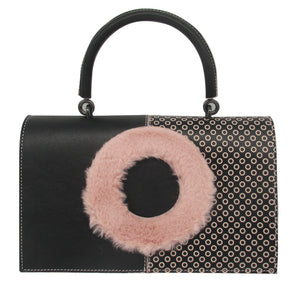 Furry Polka - Wholesale Price - Maria Cardelli Fashion Accessories
