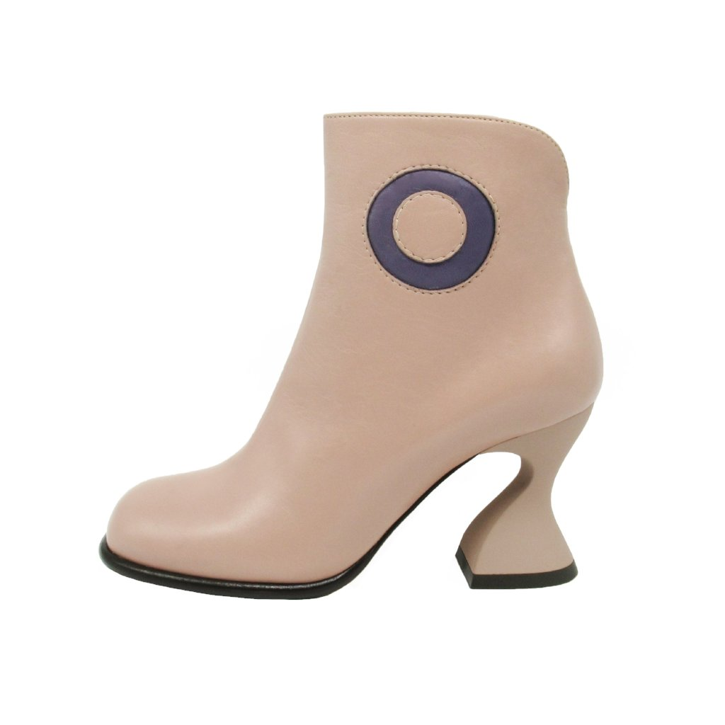 Donut bootie - Tortora - Maria Cardelli Fashion Accessories