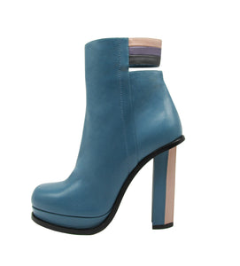 Stripes Bootie - Maria Cardelli Fashion Accessories