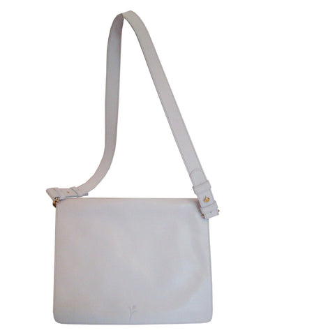 Messenger White - Maria Cardelli Fashion Accessories