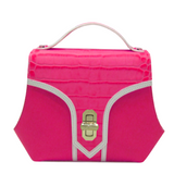 Trapezio bag Medium size Fuchsia by Maria Cardelli
