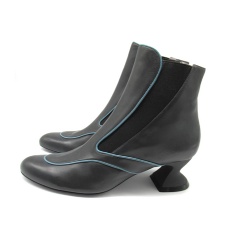 Leigh Leather Bootie by Maria cardelli