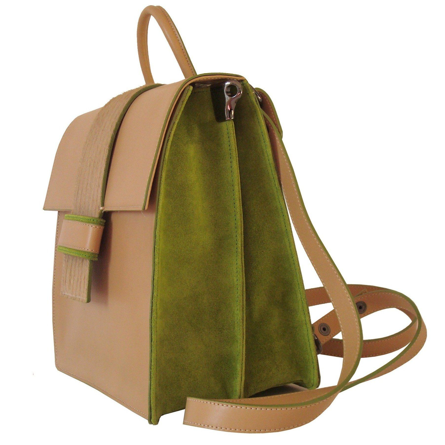 Back Up Biscuit-Green - Maria Cardelli Fashion Accessories