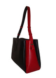 Bicolor bag Black-Red - Maria Cardelli Fashion Accessories