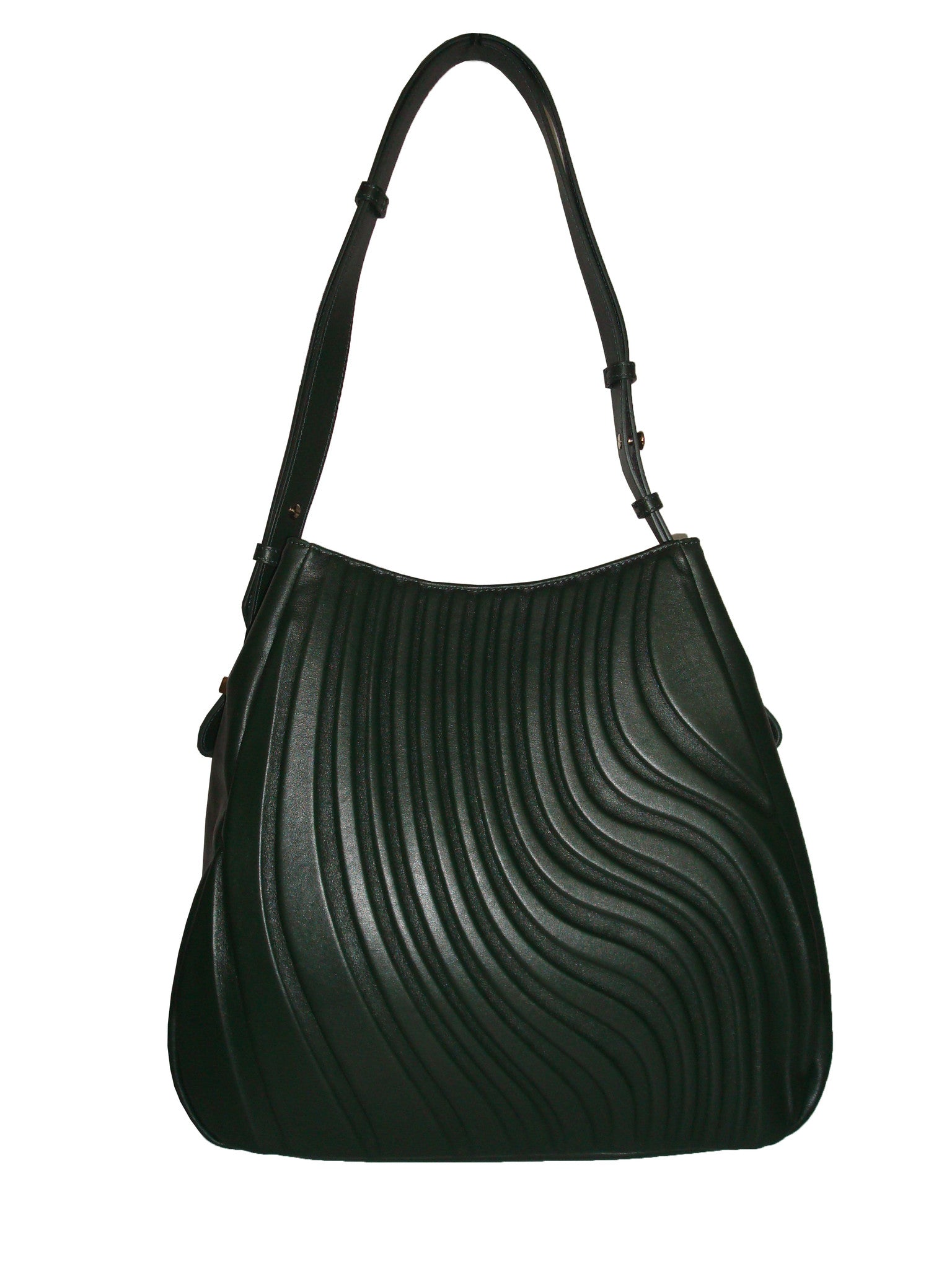 Curve Dark Green - Maria Cardelli Fashion Accessories