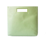 Perforated Fold It Green - Maria Cardelli Fashion Accessories