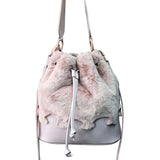 Furry Puzzle Pink - Maria Cardelli Fashion Accessories