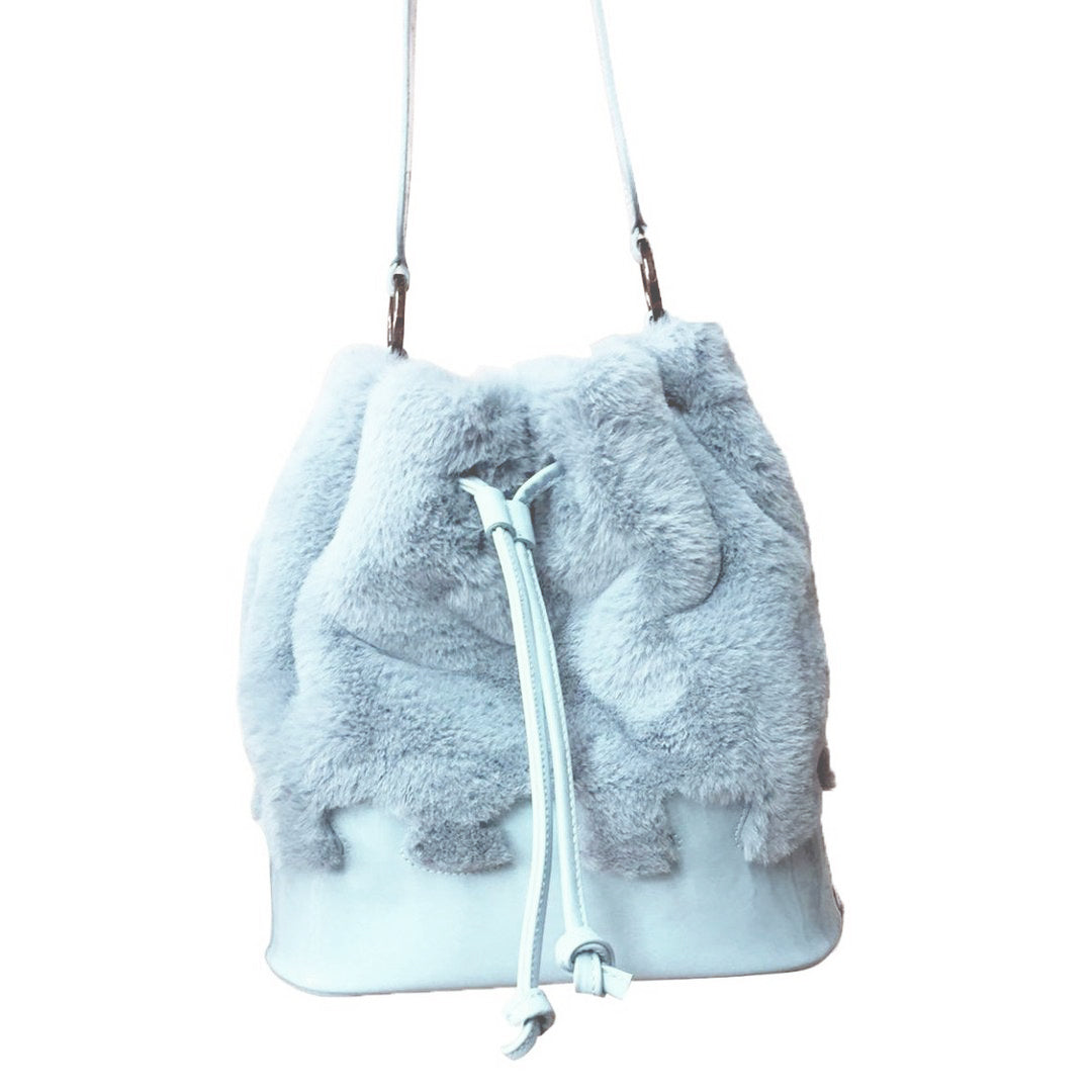 Furry Puzzle Sky - Maria Cardelli Fashion Accessories