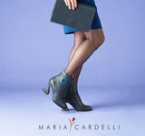 Donut bootie - Asphalt - Maria Cardelli Fashion Accessories