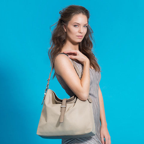 Hobo Nylon Desert - SOLD OUT - Maria Cardelli Fashion Accessories