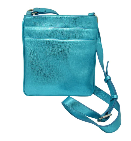 Mini-Messenger Metallic - Wholesale Price - Maria Cardelli Fashion Accessories