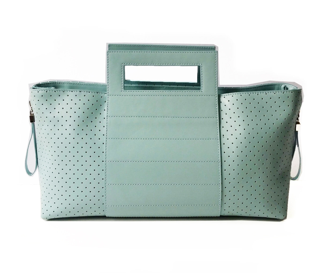Perforated Zip it - Maria Cardelli Fashion Accessories