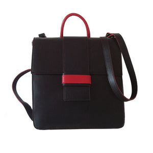 Back Up Black-Red - Maria Cardelli Fashion Accessories