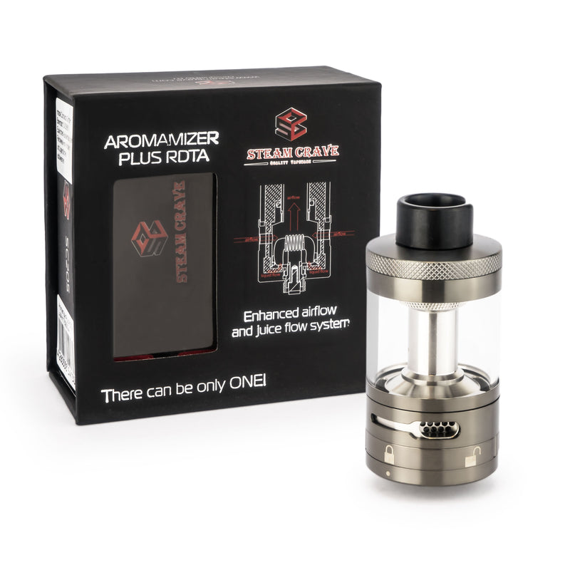 Steam Crave - Aromamizer Plus (20 ml) - RDTA-Verdampfer
