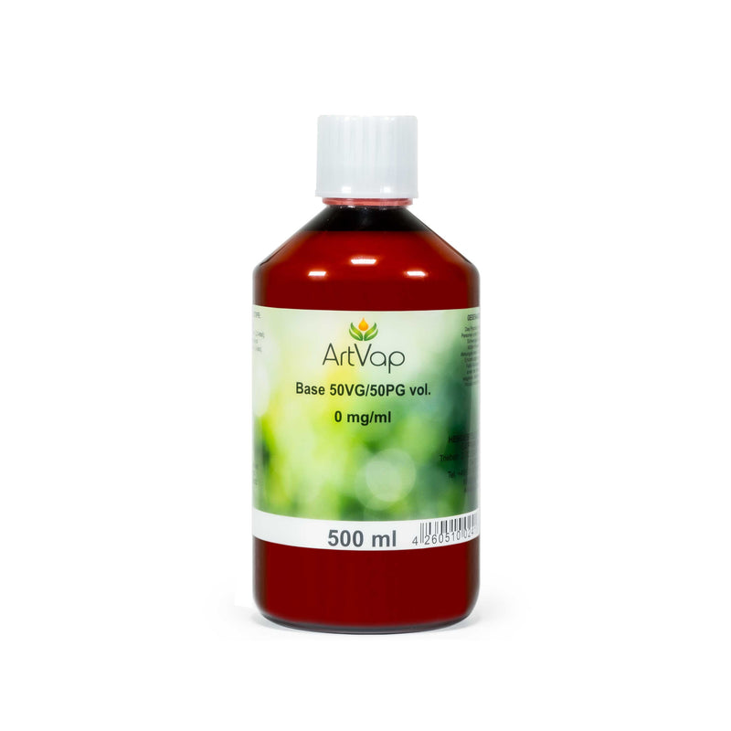 ArtVap - Base 50/50 (VG/PG) 500 ml nikotinfrei