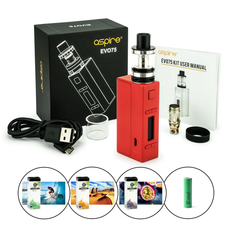 Aspire EVO75 Kit 2500 mAh (E-Zigaretten-Set)