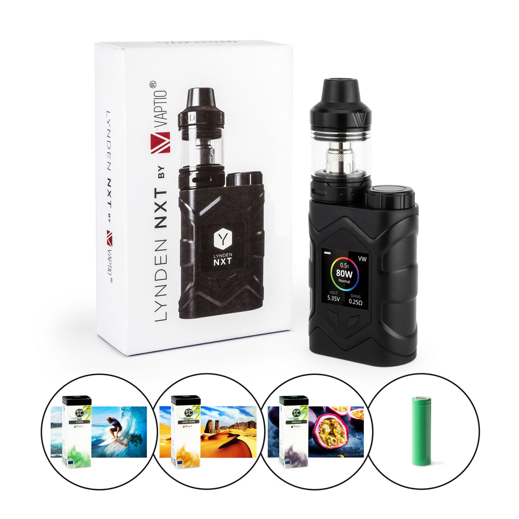 Lynden NXT Kit 80W 5ml 2500mAh E-Zigaretten-Set