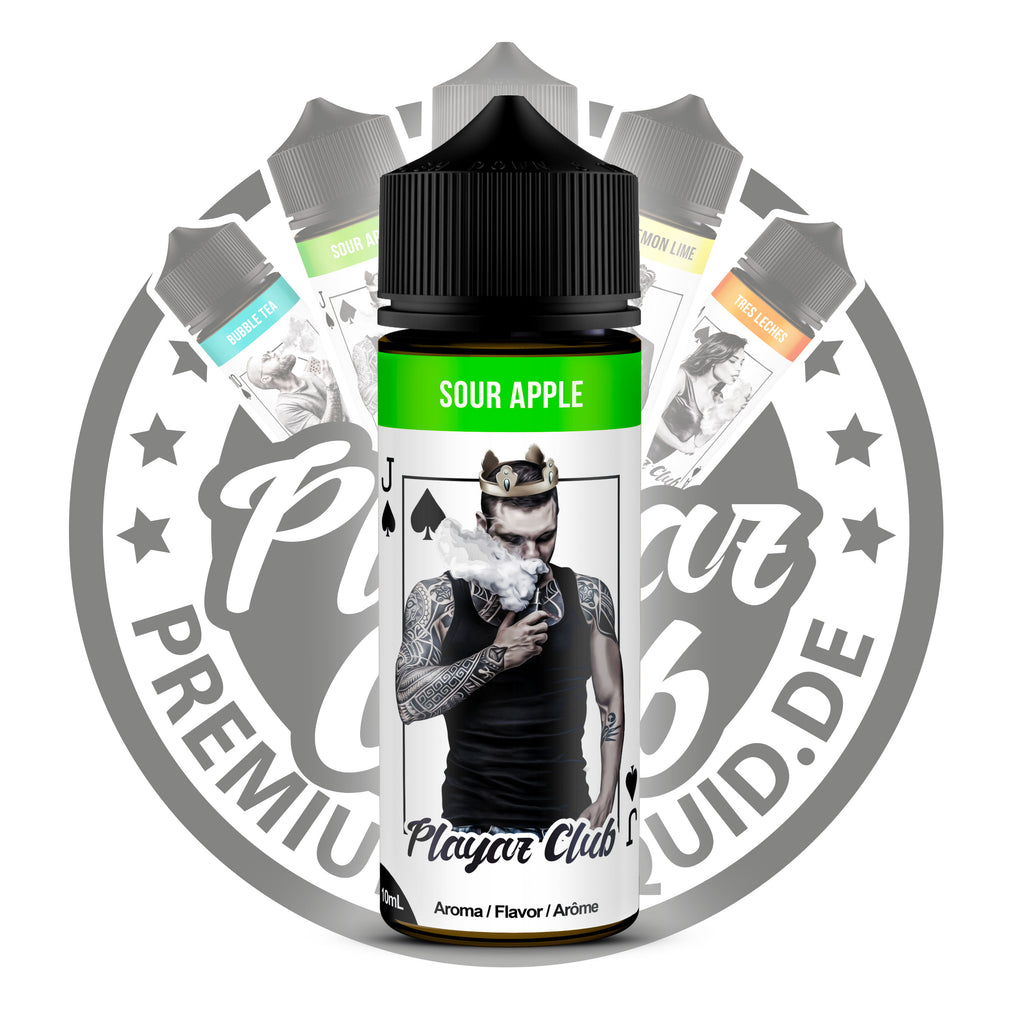 Playaz Club by Premiumeliquid Aroma - Pik Bube - Sour Apple