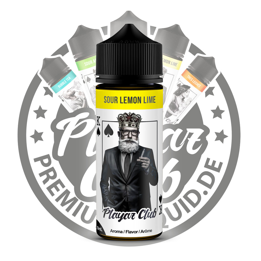 Playaz Club by Premiumeliquid Aroma - Pik König - Sour Lemon Lime