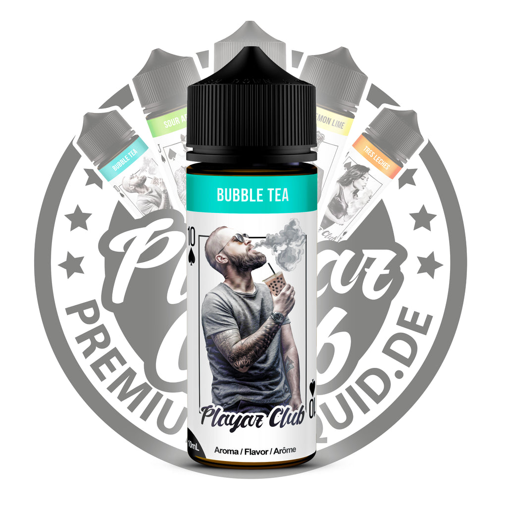Playaz Club by Premiumeliquid Aroma - Pik 10 - Bubble Tea