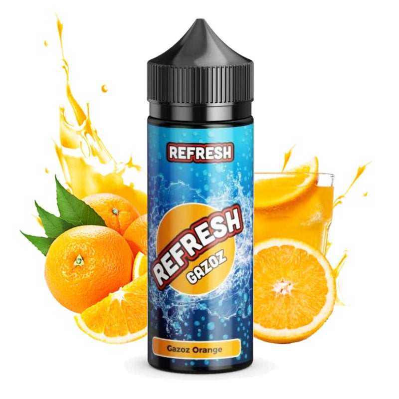 Refresh Gazoz - Aroma - Gazoz Orange