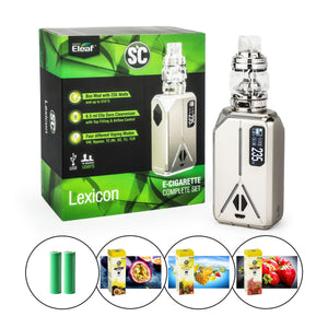 Eleaf (SC) - Lexicon Kit inkl. Ello Duro (6,5 ml) - E-Zigarette