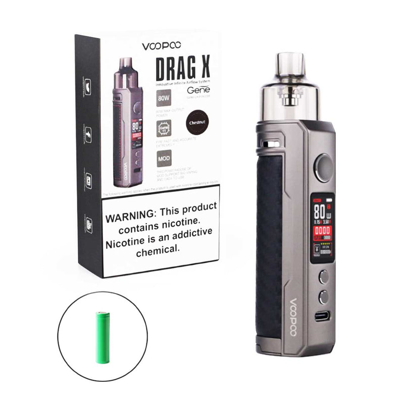 Voopoo - Drag X Pod Kit (4,5 ml) - E-Zigarette