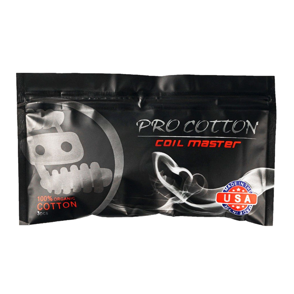 Coil Master Pro Cotton (3 Pads)