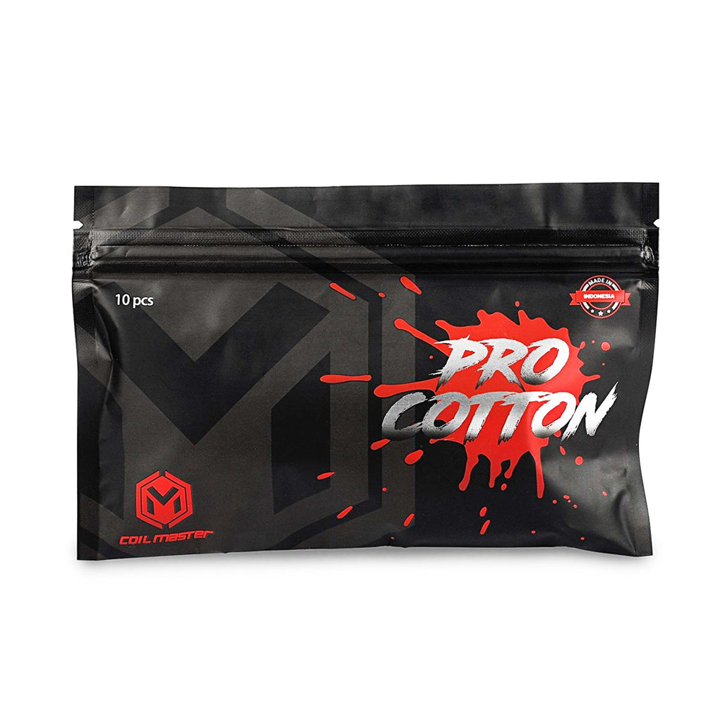 Coil Master Pro Cotton (10 Pads)