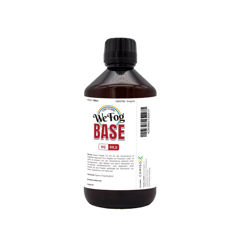 We Fog - Base 99.5 % (VG) 500 ml nikotinfrei