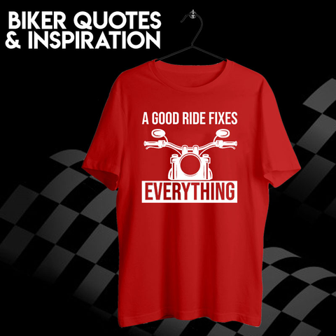 Biker Quotes & Inspiration T-shirts For Men