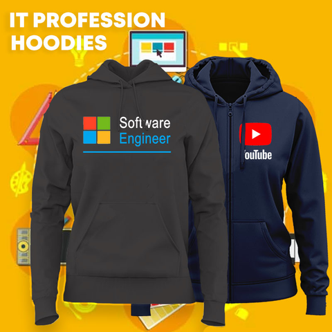IT Profession Hoodies For Women