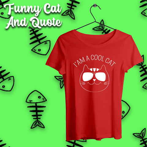 Funny Cats and Quote T-shirts