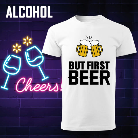 Alcohol Men's T-shirts