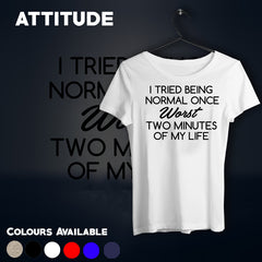 Attitude T-shirts For Women