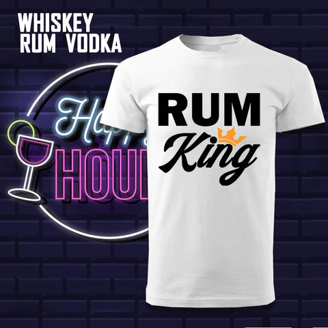 Whisky - Rum - Vodka Funny T-shirts