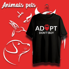 Animals/pets T-shirts For Men