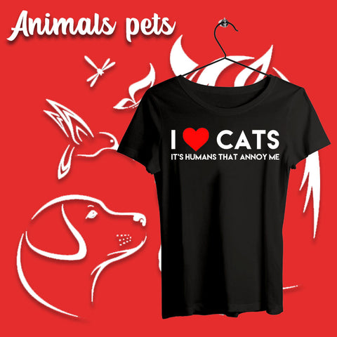 Animals/pets T-shirts For Women