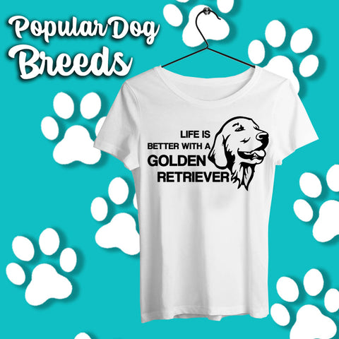 Popular Dog Breed T-shirts Online India