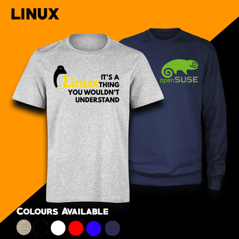 Linux Men's T-shirt