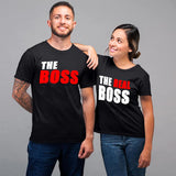 Boss And The Real Boss Couple T-Shirts Online India
