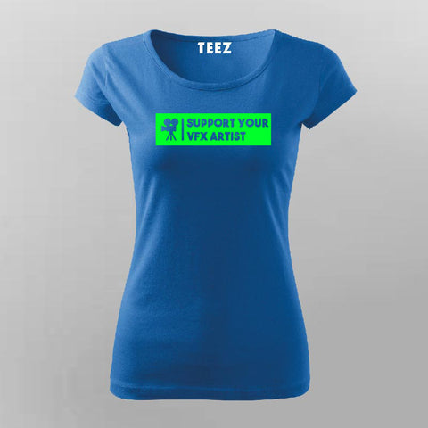 Visual Effects T-Shirt For Women