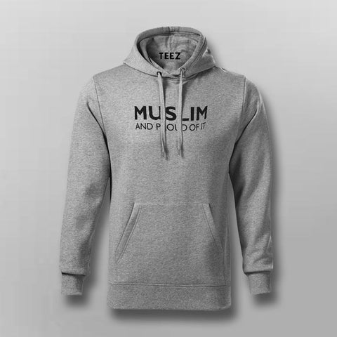 Muslim and Proud of It Hoodies For Men Online India