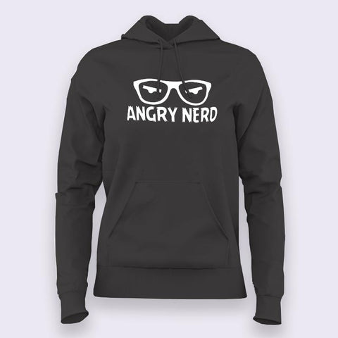 Angry Nerd - Hoodies For Women Online India