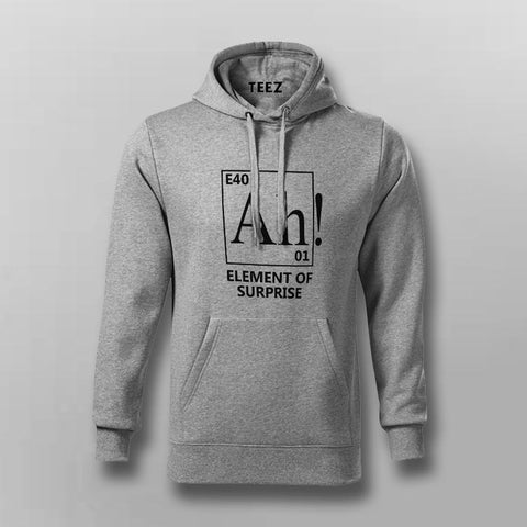 Ah! An Element Of Surprise Hoodies For Men Online India