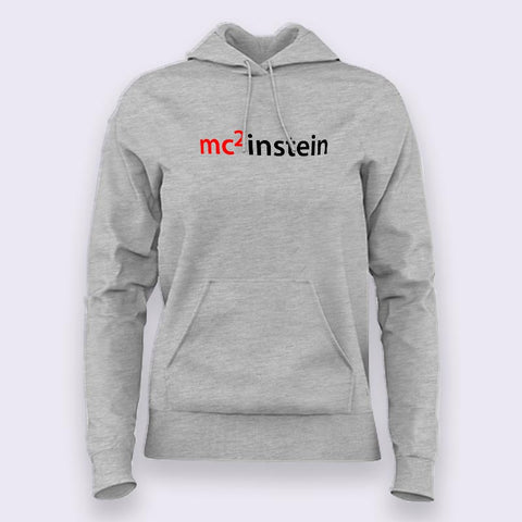 Einstein Logo Hoodies For Women Online India