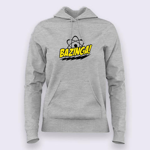 Bazinga Hoodies For Women